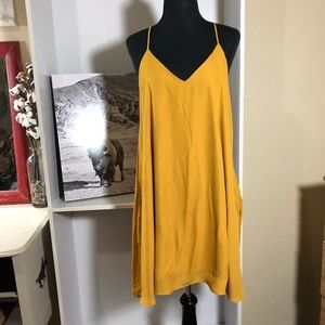 Dresses & Skirts - Mustard dress with pockets